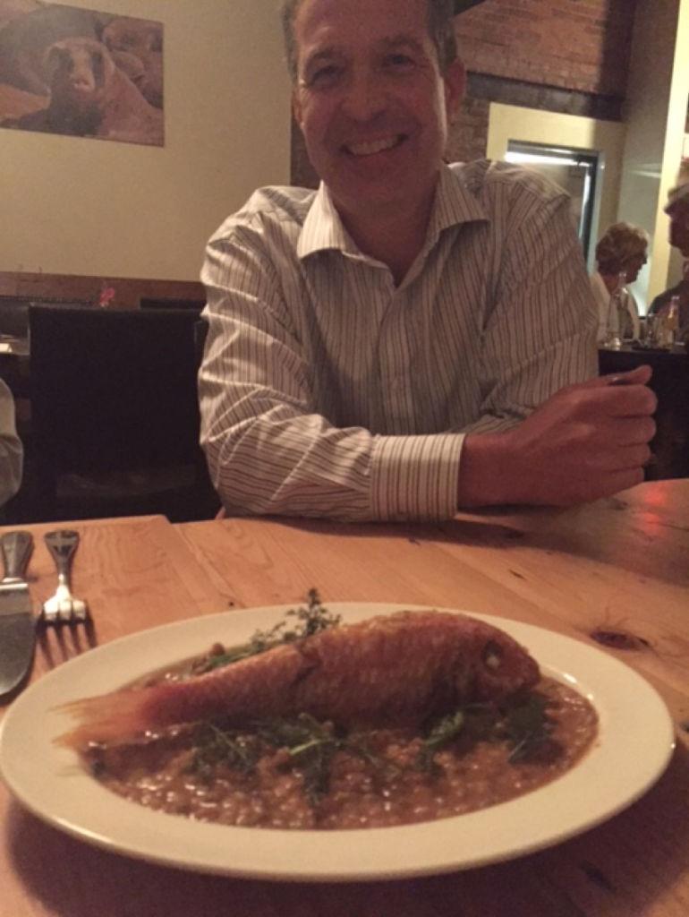 Bill's fish dish